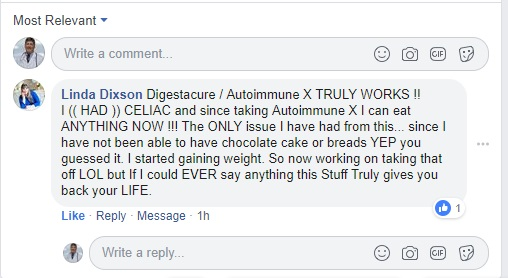 digestacure autoimmune-x reviews from a person